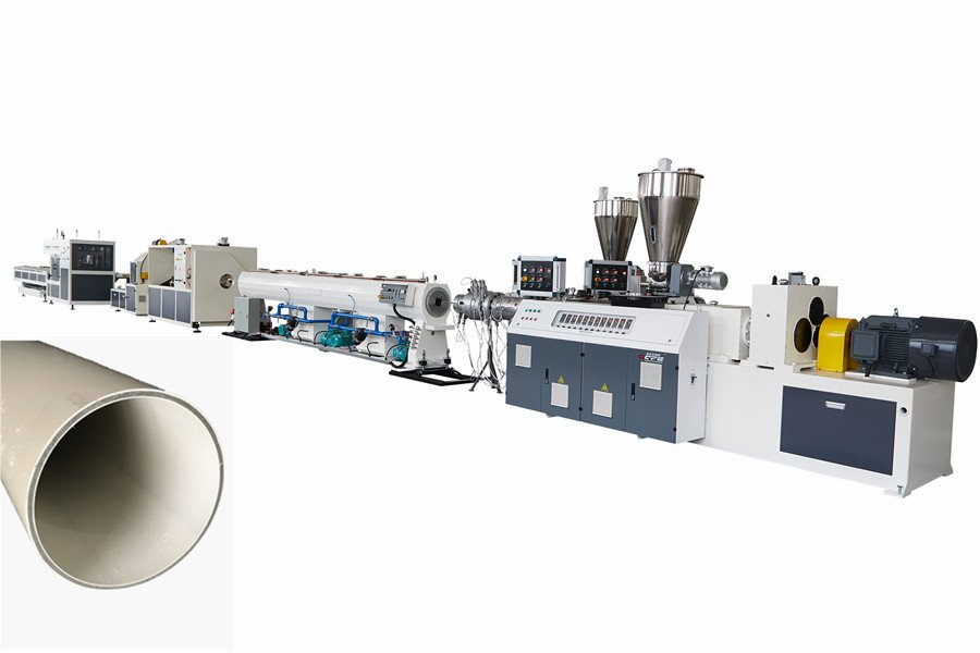 Three Layers PVC Pipe Co-Extrusion Line